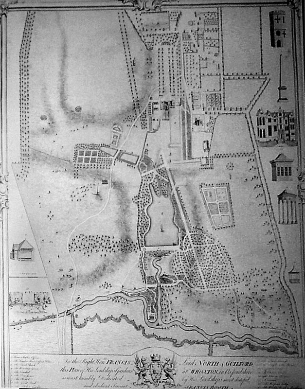 Plans for the Abbey Garden