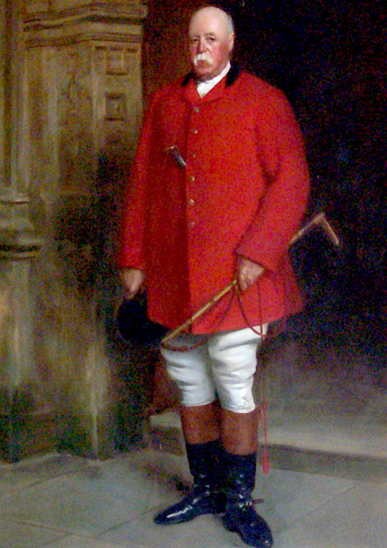 Lord North in Hunting Dress