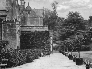 East Terrace of the Abbey, 1899