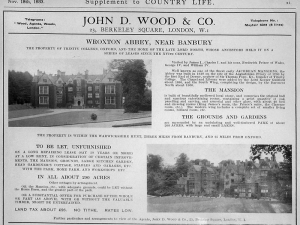 Notice of Sale of the Abbey