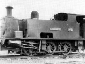The Lord North Locomotive from Oxfordshire Ironstone Company